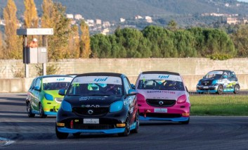 Smart E-cup, Super Cup 2020 e Challenge Ford MPM: intenso weekend al Borzacchini