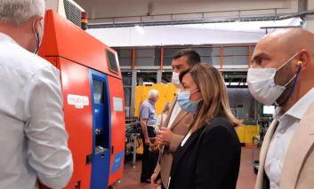 Imprese: la presidente Tesei avvia da Piegaro il programma di visite nelle aziende umbre