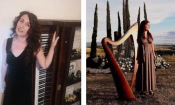 Festa della Musica, concerto di arpa e voce con Claudia Aliotta e Rachele Spingola