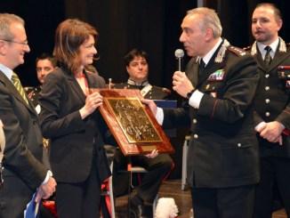 Cittadinanza Onoraria all'Arma dei Carabinieri conferita dal Comune di Cortona