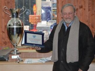Soccorso festeggia Asd Ventinella, consegnata una targa Grande soddisfazione in paese per la vittoria della Coppa Italia Umbria 2016