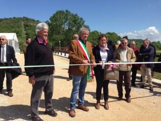 Inaugurazione cassa d'espansione sul torrente Tresa