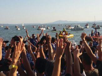 Palio delle Barche, a Passignano sul Trasimeno i 'Lucci' fanno 13, vince il Rione Centro Due