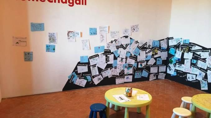 Tutti #ComeChagall alla mostra di Castiglione del Lago