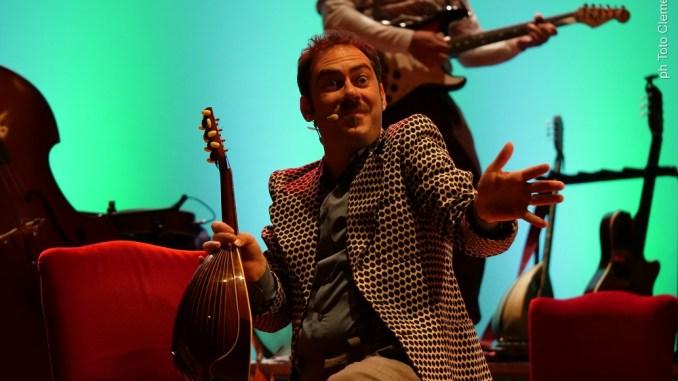 Mario Incudine,venerdì 15 marzo, Teatro dell'Accademia di Tuorosul Trasimeno