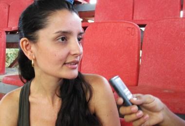 Ana María Quiceno. Funcionaria CRINES