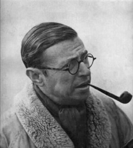 jean-paul sartre-pipe