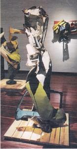 Chatarra. Partes de auto. Colección Pablo Leyva. Foto: David Campuzano En: http://www.colarte.com/colarte/conspintores.asp?idartista=1229