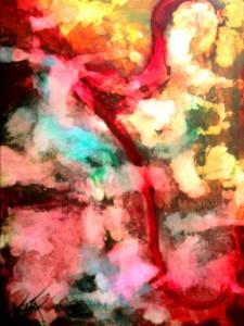 Colores de un Sueño (Cuadro Donado Para Subasta Benéfica)