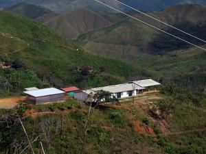 El macizo frente al desarrollo desmedido de proyectos mineros de gran envergadura. Foto por: Sebastián Rubio