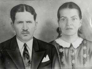 Martiniano y Ana María (+), cuando aún no eran viejos