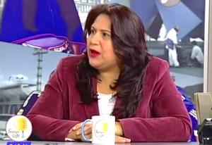 La ex-representante a la Cámara Yidis Medina en entrevista con el Canal Capital. Foto: Canal Capital