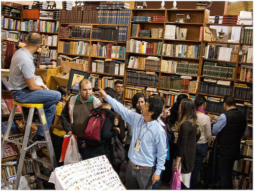 Librería Arteletra en Bogotá Foto: Marco Ruiz