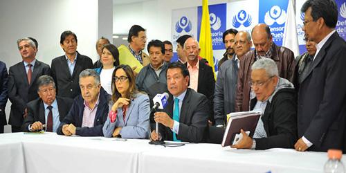 El Gobierno y Fecode llegaron a un acuerdo el pasado 6 de mayo. Foto:Ministerio de Trabajo