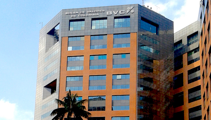 Edificio de la Bolsa de Valores de Colombia. Foto: Wikimedia Commons