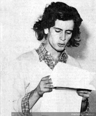 Armando Rubio, 1979. Archivo tomado de Memoria Chilena, Biblioteca Nacional de Chile