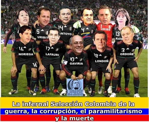 Inmunda selección Colombia