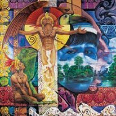 Ayahuasca. Pintura del artista Al Vivero