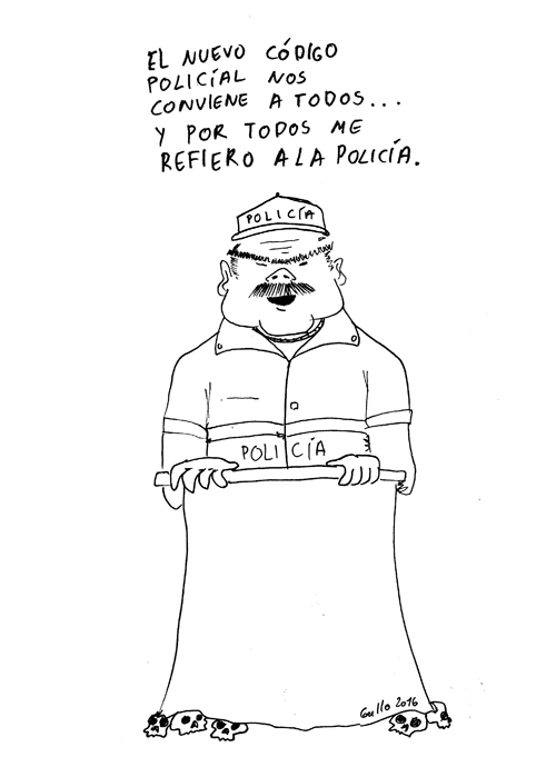 codigo policil