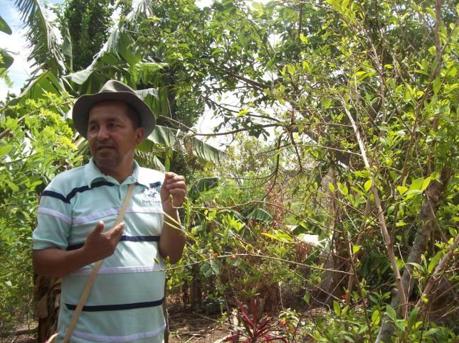 Herney Ruiz, campesino de Lerma. Fotografía: Stefany Vargas