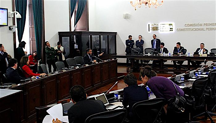 Control político al Ministro de Salud por otorgar licencias de marihuana medicinal. Foto: Congreso de la República