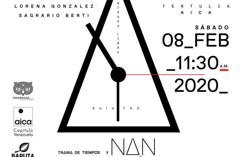 Tertulia AICA: Nan González y Trama de Tiempos.