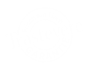 Stempel Trastevere weiß