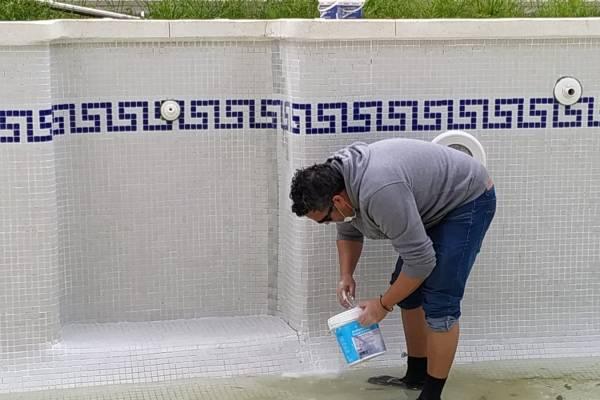 reparacion piscina en seco