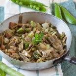 Vignarola, una delle ricette più tipiche della cucina romana
