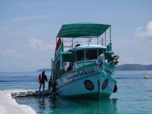ดำน้ำเกาะช้าง เหมาเรือ