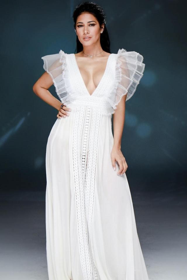 f860f6884 simaria vestido branco clipe figurino um em um milhao