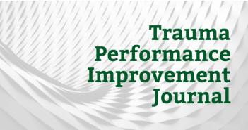 Trauma Performance Improvement Journal