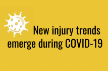 New injury trends emerge during COVID-19 pandemic