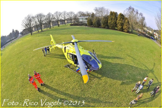Lifeliner3 inzet Veldhoven Fotograaf: Rico Vogels