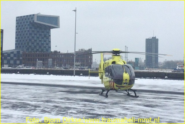 Lifeliner2 inzet Rotterdam Foto: Bjorn Dirkse
