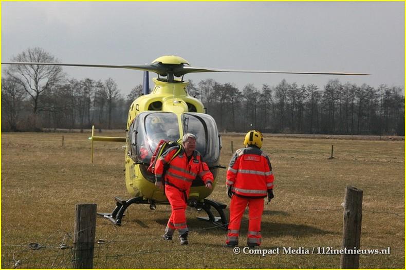 112 Ongeval Overlaadstation Oosterwolde 7-BorderMaker
