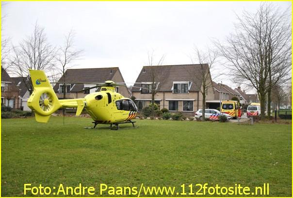 Lifeliner2 inzet Steenbergen Foto: Andre Paans