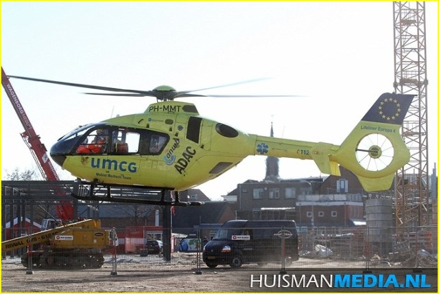 Lifeliner4 inzet Winschoten Foto: HUISMANMEDIA.NL