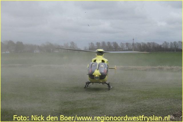 Lifeliner4 inzet Harlingen Foto: Nick den Boer