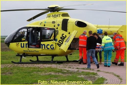 Lifeliner4 inzet Nieuw-Schoonebeek Foto: NieuwsEmmen.com