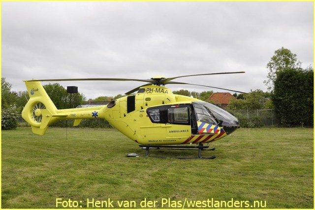 Lifeliner2 inzet ´s-Gravenhage Foto: Henk van der Plas