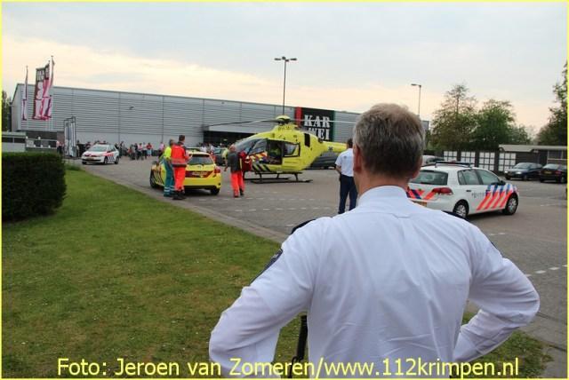 Lifeliner2 inzet Krimpen aan den Ijssel Foto: Jeroen van Zomeren