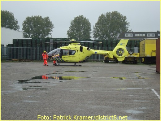 Lifeliner2 inzet Delft Foto: Patrick Kramer