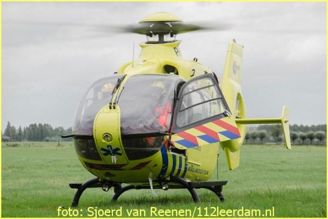 Lifeliner2 inzet Leerdam Foto: Sjoerd van Reenen