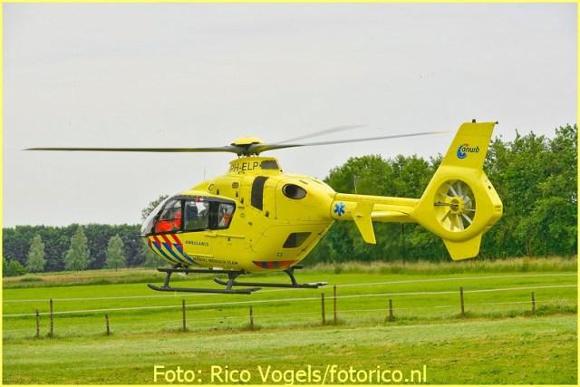 Lifeliner3 inzet Vessem Foto: Rico Vogels