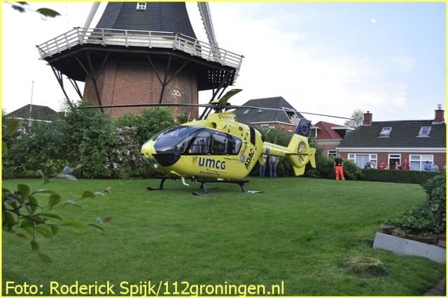 Lifeliner4 inzet Uithuizen Foto: Roderick Spijk