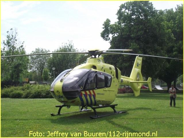 Lifeliner2 inzet Rotterdam Foto: Jeffrey van Buuren
