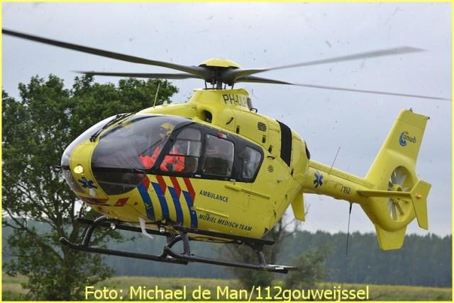 Lifeliner2 inzet Nieuwerkerk aan den Ijssel Foto: Michael de Man