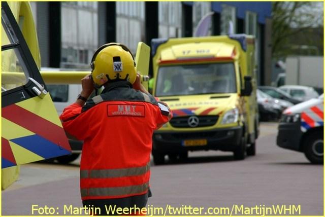 Lifeliner2 inzet Schiedam Foto: Martijn Weerheijm
