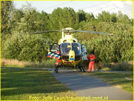 Lifeliner1 inzet Almere Foto: Jelle Laan